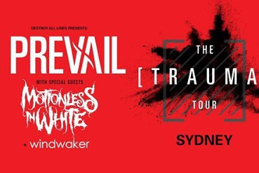 I Prevail - The Trauma Tour w/ Motionless in White // Sydney
