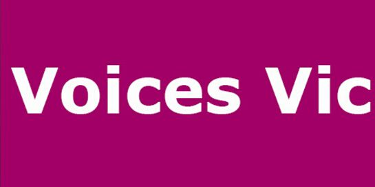 Voices Vic - Hearing Voices Approach Training