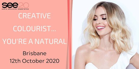 Creative Colourist... You're a Natural - BRISBANE