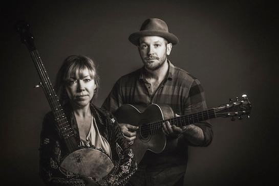 Felicity Urquhart and Brad Butcher