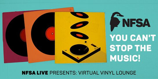 NFSA Live: Virtual Vinyl Lounge - October edition