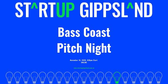 Startup Gippsland - Bass Coast Pitch Night