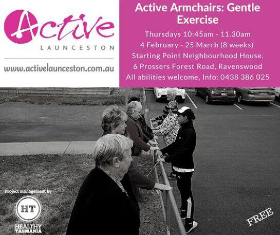 Active Armchairs: Gentle Exercise
