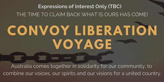 Convoy Liberation Voyage - Vehicle Convoy of Unity(expressions of interest)