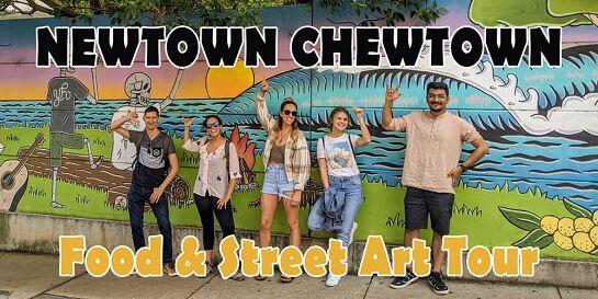 Newtown Food & Street Art Small-Group Tour