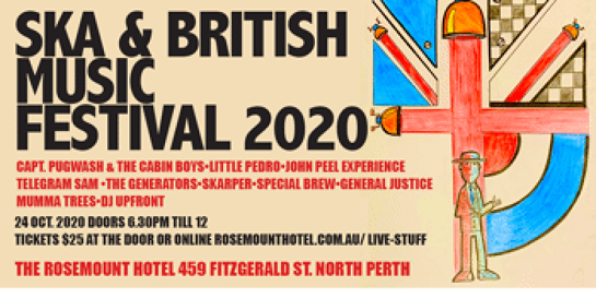 Ska & British Music Festival 2020