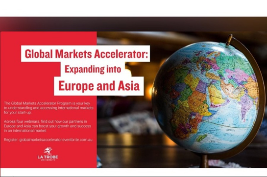 Global Markets Accelerator: Expanding into Europe and Asia