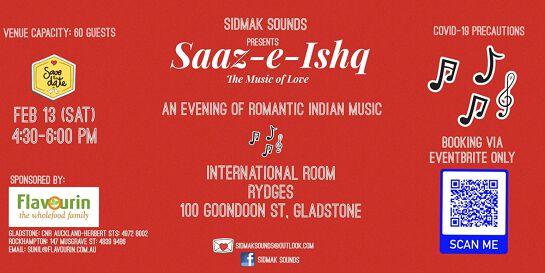 Saaz-E-Ishq - An evening of romantic Indian music