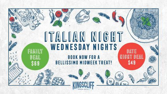 Italian Nights at the Kingy