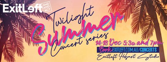 Exitleft presents a Twilight Summer Concert Series