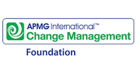 Change Management Foundation 3 Days Virtual Live Training in Melbourne