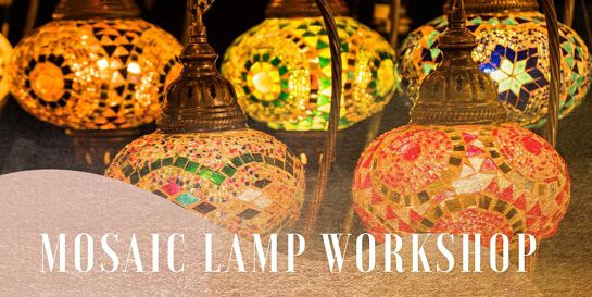 Mosaic Lamp Workshop Sydney