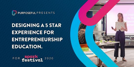 Designing a 5 star experience for Entrepreneurship Education ⭐