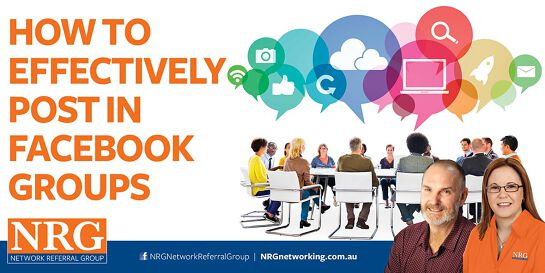 NRG Networking Facebook Training - ZOOM