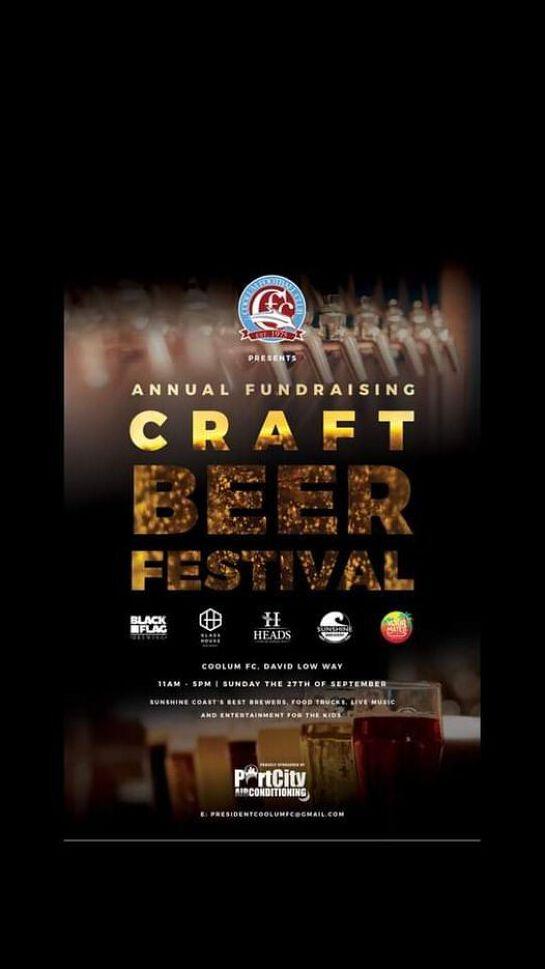 Coolum FC Craft Beer Festival