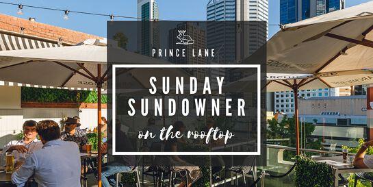 Sunday Sundowner on the Rooftop