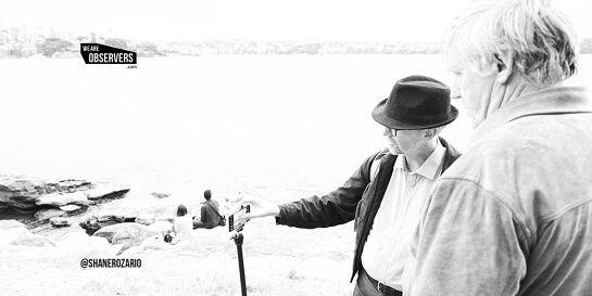 Phone Photo Adventure. Explore Sydney's Harbor Foreshore