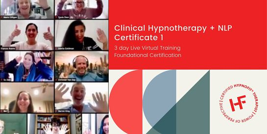 Clinical Hypnotherapy and NLP – Certificate 1
