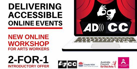 Delivering Accessible Online Events Workshop 4 Nov 2020