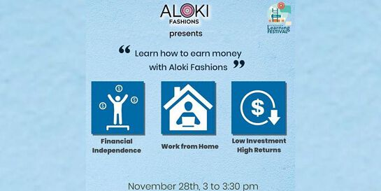 Learn how to earn money with Aloki Fashions