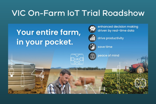VIC On-Farm IoT Trial Information Session