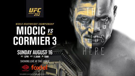Miocic vs. Cormier | UFC 252 at the Kingy