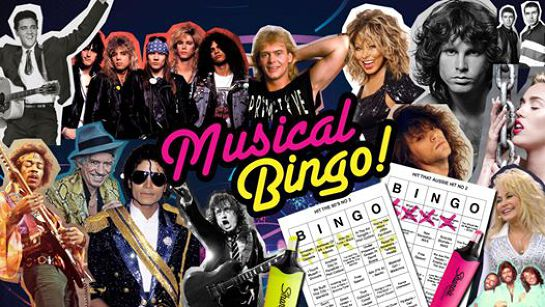 Musical Bingo Is Back!
