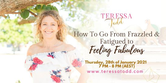 How To Go From Frazzled & Fatigued to Feeling Fabulous