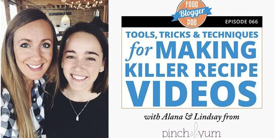 Tools, Tricks, & Techniques for Making Recipe Videos Workshop