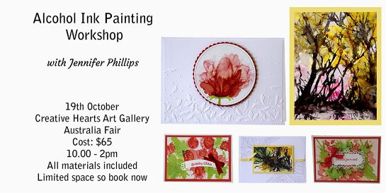 Alcohol Ink Painting  Workshop