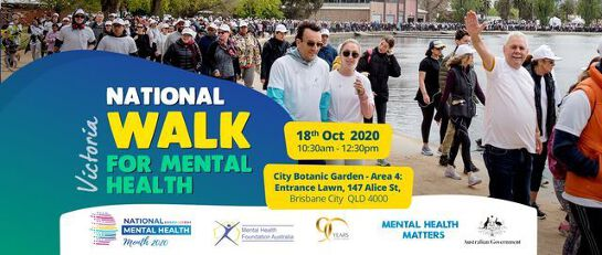 Victoria: Physical Walk for Mental Health