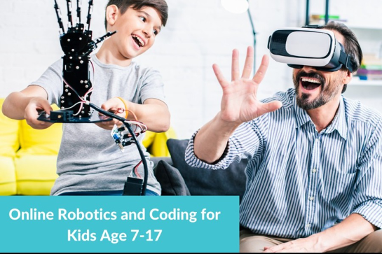 Online Robotics and Coding After School Program For Kids