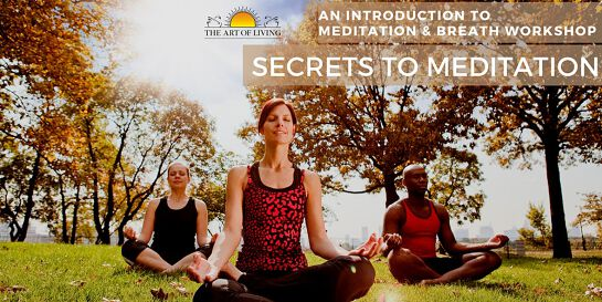 Secrets to Meditation:  An Introduction to Meditation and Breath Workshop