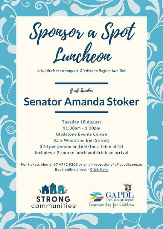 GAPDL Sponsor a Spot Luncheon