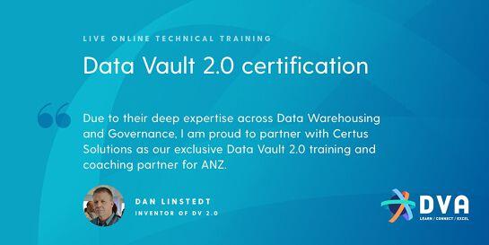 Data Vault 2.0 Boot Camp & Certification - 23-25 FEB 2021 - ONLINE DELIVERY