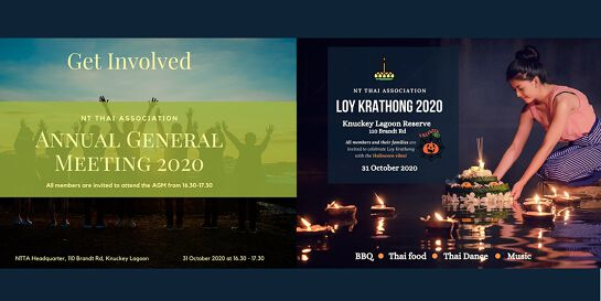 NTTA Annual General Meeting and Loy Krathong Festival 2020