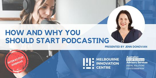 [WEBINAR] How and Why You Should Start Podcasting