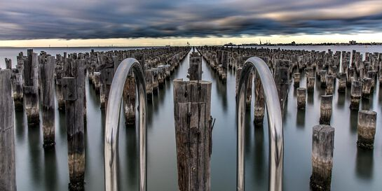 Long Exposure Photography with Haida Filters - Princes Pier