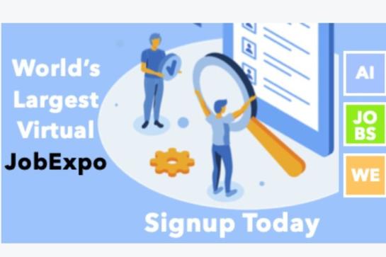 JobExpo Virtual Business, Data & Technology Job Expo