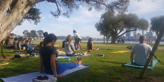 Morning Flow Yoga (by the River)