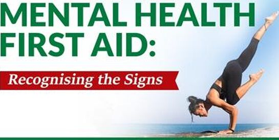MENTAL HEALTH FIRST AID TRAINING - VIRTUAL ZOOM SESSIONS