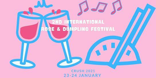 Crush 2021 - 2nd International Rosé & Dumpling Festival