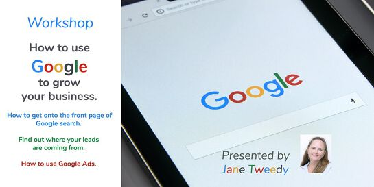 Online Workshop: Use Google Business Solutions to Grow Your Business