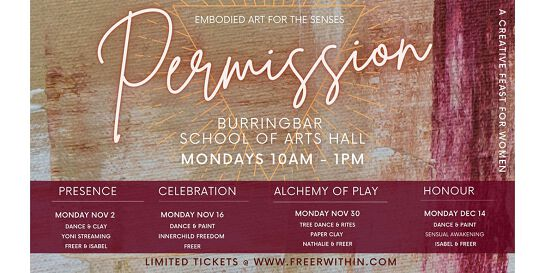 Permission embodied art series - Vol 3 ALCHEMY OF PLAY
