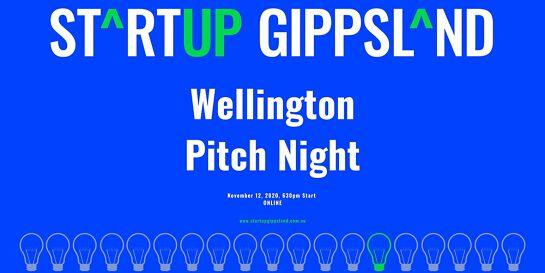 Startup Gippsland - Wellington Pitch Night