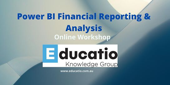 Power BI - Financial Reporting and Analysis Online Workshop