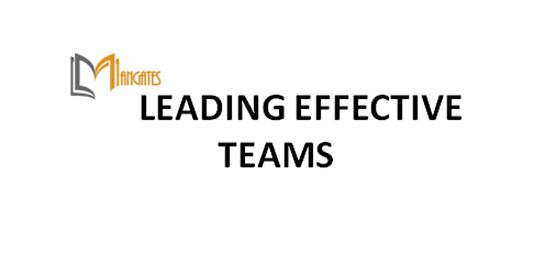 Leading Effective Teams 1 Day Virtual Live Training in Perth