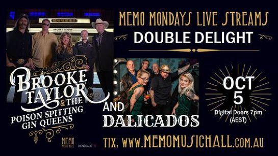MEMO Live Streams: Brooke Taylor & Dalicados