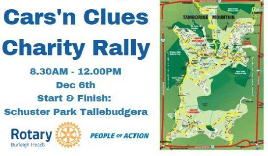Cars'n Clues Charity Rally