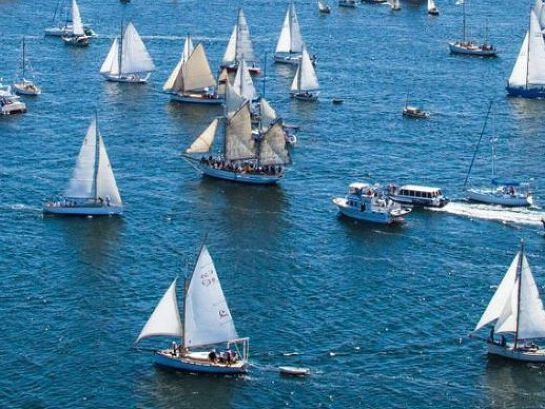 Royal Hobart Regatta Parade of Sail in conjunction with AWBF